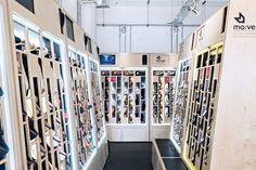 Mo:vel urban shoe store by Moxon Architects, Brighton – UK