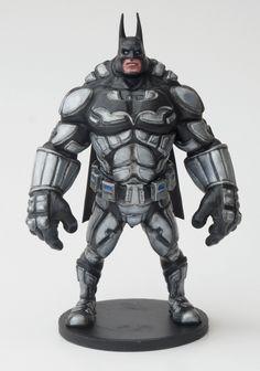 Batman action figure 3D print from trint3dprint.com. Autor author of the 3d model is Nikolay Naydenov / Nikohard /
