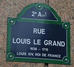 rue Louis-le-Grand - Paris 2ème
