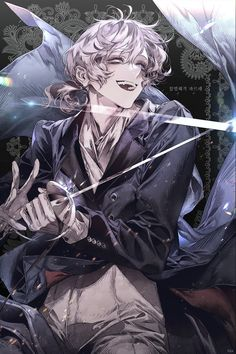 Alsu- Murderer and fencing champion of Reemsvale. He now lives in Palindrus and seeks entry into the grey light murder club Anime Boys, Manga Anime, Dark Anime Guys, Hot Anime Boy, Cute Anime Guys, Manga Boy, Anime Demon, Anime Art Girl, Character Inspiration