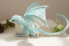 Blue dragon 1 by sheeps-wing on DeviantArt
