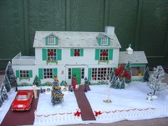 VINTAGE MARX TIN LITHO DOLLHOUSE + DOLL HOUSE FURNITURE & FIGURES | eBay