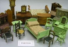 Tynietoy Doll House Furniture and Accessories   Sale Number 2355, Lot Number 665   Skinner Auctioneers