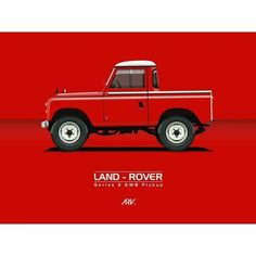 Land Rover 88 Serie III Pickup Werbung – Kegdis – Join the world of pin Landrover Defender, Landrover Serie, Defender 90, Land Rover 88, Land Rover Series 3, Pick Up, Car Illustration, Pontiac Gto, Car Wheels
