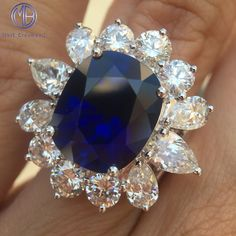 Crazy for that Mark Broumand Sapphire Blue.