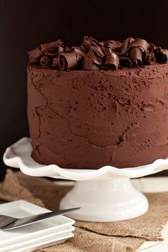 Chocolate Stout cake by My baking addiction blog