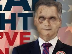 AMC supports a zombie for president