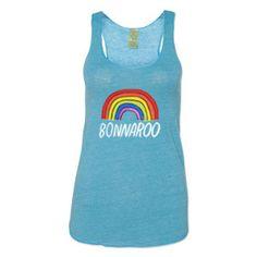 Bonnaroo 2015 Women's Rainbow Tank