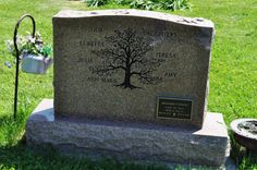 Family Tree Headstone