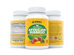 African Mango Extract Cleanse w/ Raspberry Ketones, Acai Berry, Green Coffee, and Green Tea by Swoll Sports & Nutrition, 500mg, 60 Caps Vegan Diet Pill Supplement Promotes Rapid Weight Loss, Flat Abs, Control Blood Sugar Level, Rid Cellulite - Safe!.