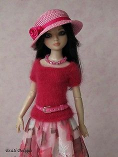 Evati OOAK Outfit for Ellowyne Wilde Amber Lizette Tonner 4 | eBay. Ends 6/18/14. Sold for $87.56.