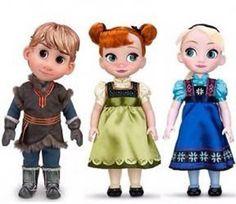 Disney Frozen Animator Doll Collection, Elsa, Anna & Kristoff Disney http://www.amazon.com/dp/B00K2DV4QE/ref=cm_sw_r_pi_dp_DStcub08ZR9KF