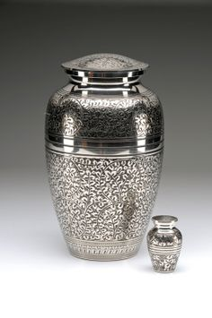 Caskets Direct Pty Ltd - Silver Oak Leaf Cremation Urn, $220.00 (http://www.casketsdirect.com.au/products/cremation-urns-silver-oak-leaf-cremation-urn.html)
