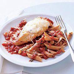 Slim Chicken Parmesan.