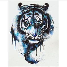 Тигр - Схемы вышивки - НаткаДенискина - Авторы - Портал «Вышивка крестом»