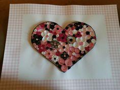 Flowers in a heart