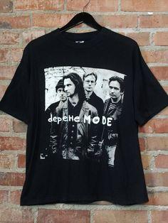 f11d4be4e7f VINTAGE Depeche Mode Tour 1993 REPRINT T SHIRT USA SIZE1  fashion  clothing   shoes · Depeche Mode T ShirtsDepeche ...