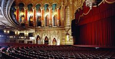 Fox theater in Detroit