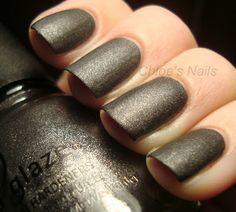 District 2 - Stone Cold matte - Hunger Games china glaze polish