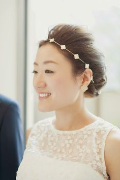 私のウェディングヘア  ドレス アルハンブラ my wedding hair for dress