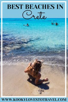 CRETE IS CONSIDERED TO HAVE ONE OF THE MOST BEAUTIFUL AND EXOTIC SAND BEACHES NOT ONLY IN GREECE, BUT IN THE WHOLE WORLD TOO! This post covers my top ten Crete beaches so keep scrolling to get inspired and refresh your bucket list!  #cretegreece #europe #beachesphotography #bucketlist #greece
