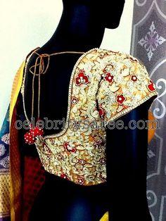 Kundan Stone Work Designer Blouses | Saree Blouse Patterns