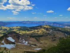 A 2.5-mile hike (gaining 1,250 ft.) brings you to the 8,929 ft. Mt. Scott summit, the only place in Crater Lake National Park where you can capture the entire caldera in one point-and-shoot photo. Imagine another 5,000 feet of volcano for an idea of what Mt. Mazama looked like before the cataclysmic eruption 7,700 years ago!Photo: National Park Service