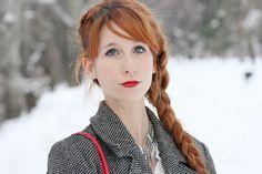 Fashion is instant language.: Léopard (presque) des neiges !