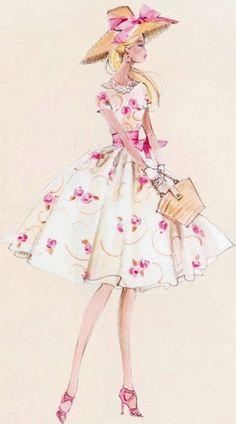 Robert Best Illustration of Barbie