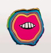Pucker up, this lips cushion has got us swooning. Designed by seriously stylish duo ParisEssex this cushion has all the hallmarks of their fun style Occasional Chairs, West Africa, Friend Wedding, Golden Age, Kitsch, Lip Colors, Needlepoint, Cool Style, Lips