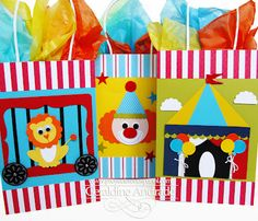 Mafer's Creations: CIRCUS BAGS