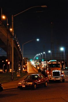 Traffic was diverted off the West Seattle lower bridge during the Occupy Seattle protests in December 2011