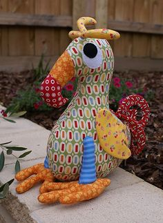 Dudley the Dodo bird *note I ended up buying this pattern. There doesn't seem to be many left in circulation. There were 4 more for sale on EBay when I purchased mine. FYI