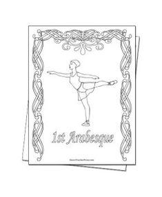 Arabesque Coloring Sheet