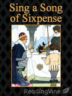 Sing a Song of Sixpence - Free, printable Mother Goose reading comprehension activity for K-2nd grade.