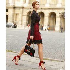 Os melhores looks das famosas na semana de moda de Paris. Marina Ruy Barbosa