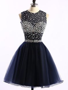 Homecoming Dress,Tulle Homecoming Dresses,Homecoming Gowns,Beaded Party Dress,Short Prom Gown,Short Homecoming Dresses