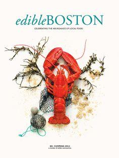Edible Boston (Spring 2014) | via Edible Feast #ediblecommunities #ediblecovers