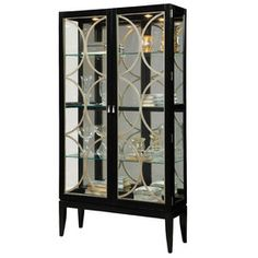 Bethany Mirrored Display Cabinet