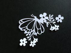 découpe fleur et papillon pour scrapbooking carterie.... : Embellissements par didine45