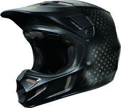 Fox Racing V4 Matte Carbon w/MIPS Mens Motocross Helmets