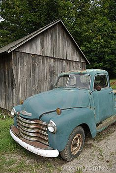 Old Pickup Truck...except mine would be either black or red :)