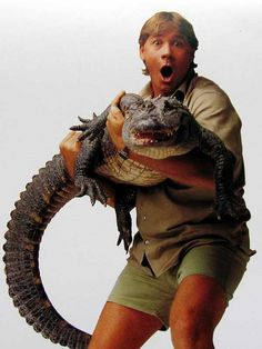 Future love better love Steve Irwin and The Crocodile Hunter TV show as much as I do :)