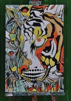 GIGARTE.com | Archivio Internazionale delle Arti Contemporanee #print #tiger #animal