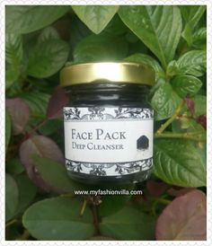 I love this Charcoal Face Pack !! From #Alannanaturals