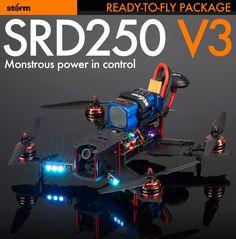 Storm Racing Drone (RTF / SRD250 V3 / CC3D) http://www.helipal.com/storm-racing-drone-rtf-srd250-v3-cc3d.html