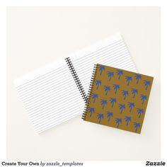 "Custom 8.5"" x 8.5"" Spiral Notebook"