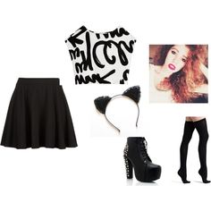 """Mahogany LOX inspired"" by poofypenguinsftw on Polyvore"