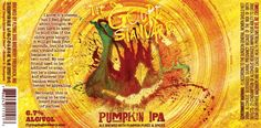 Flying Dog The Gourd Standard, a hoppy pumpkin beer