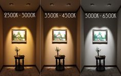 Colour temperature of light - 3 Things You Need to Know to Make Your Home Lighting Design
